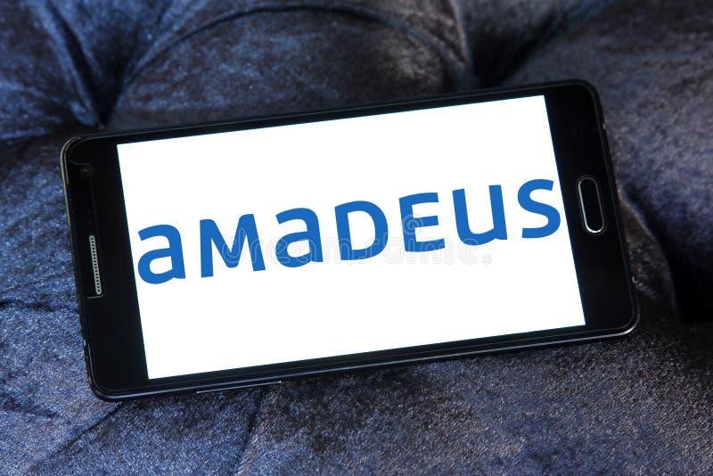 Λογότυπο ομάδας ΤΠ του Αμαντέους στοκ εικόνες