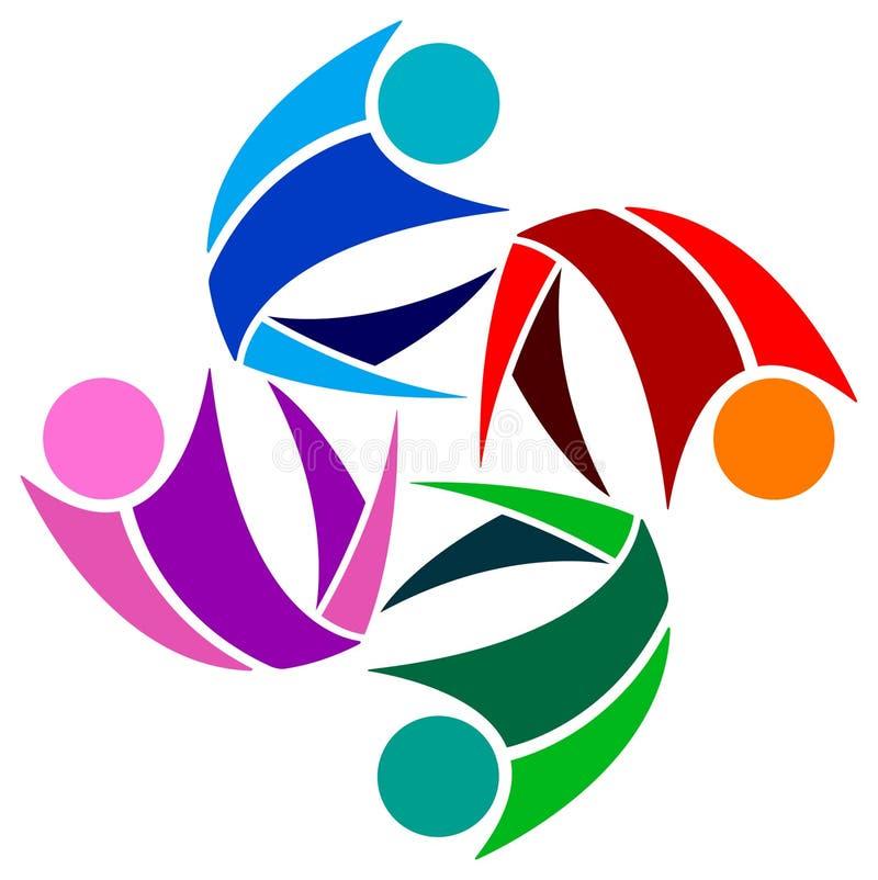 Λογότυπο ομάδας ελεύθερη απεικόνιση δικαιώματος