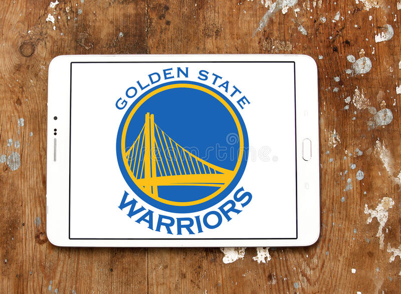 Λογότυπο ομάδα μπάσκετ πολεμιστών Χρυσής Πολιτείας στοκ φωτογραφία με δικαίωμα ελεύθερης χρήσης