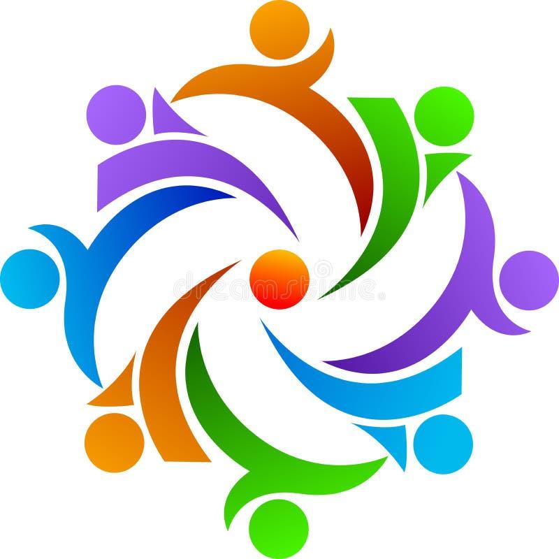 Λογότυπο ομαδικής εργασίας