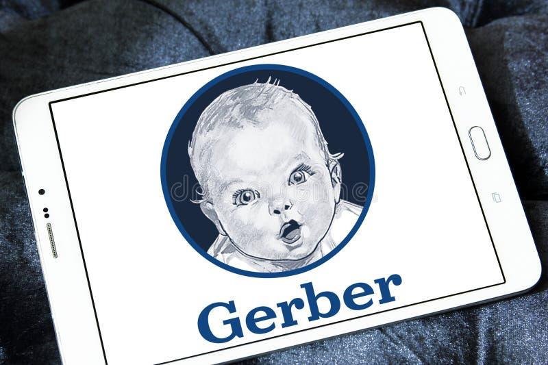 Λογότυπο παιδικών τροφών Gerber στοκ φωτογραφίες με δικαίωμα ελεύθερης χρήσης