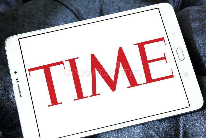 Λογότυπο περιοδικό Time στοκ φωτογραφίες με δικαίωμα ελεύθερης χρήσης