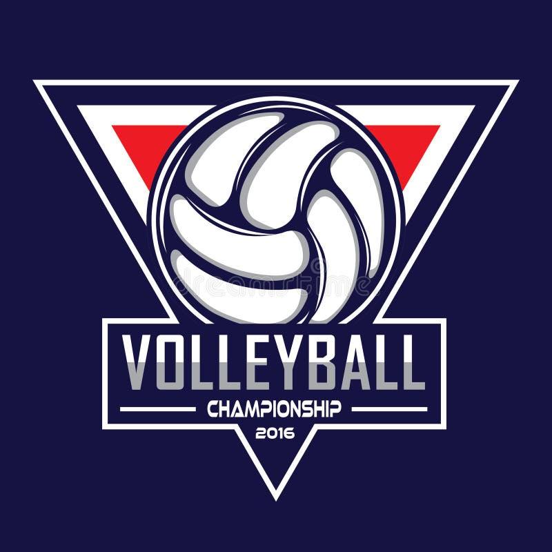 Λογότυπο πετοσφαίρισης, λογότυπο της Αμερικής απεικόνιση αποθεμάτων