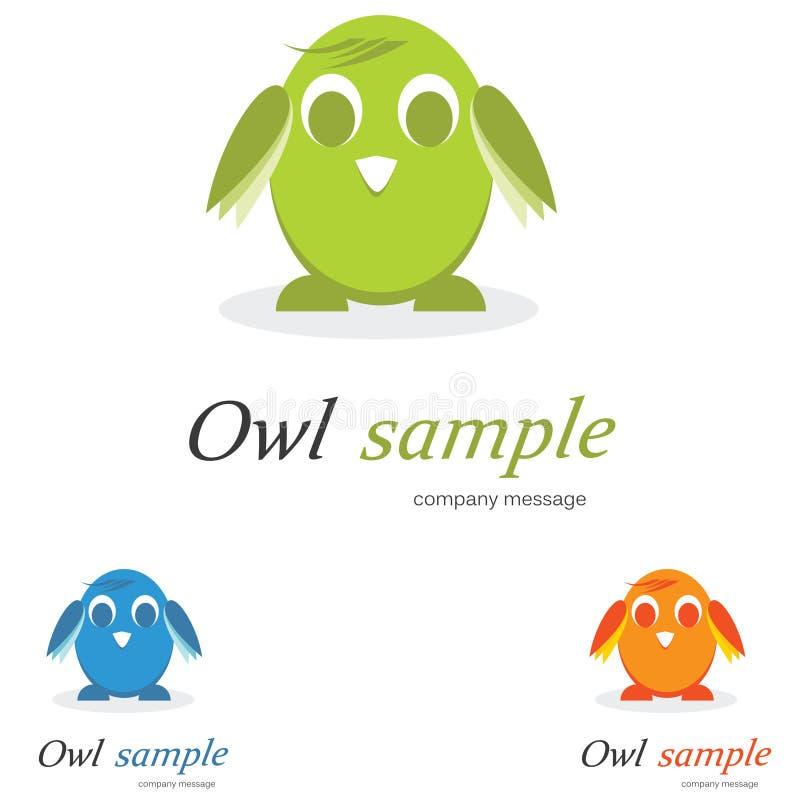 λογότυπο πουλιών διανυσματική απεικόνιση