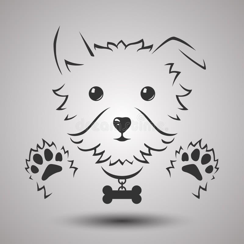 Λογότυπο σκυλιών απεικόνιση αποθεμάτων
