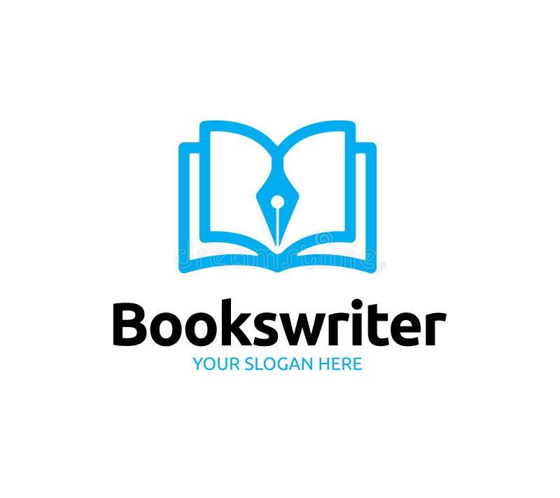 Λογότυπο συγγραφέων βιβλίων ελεύθερη απεικόνιση δικαιώματος