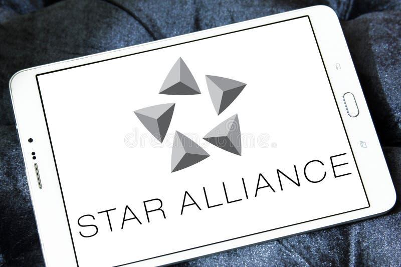 Λογότυπο συμμαχίας αστεριών στοκ φωτογραφία με δικαίωμα ελεύθερης χρήσης