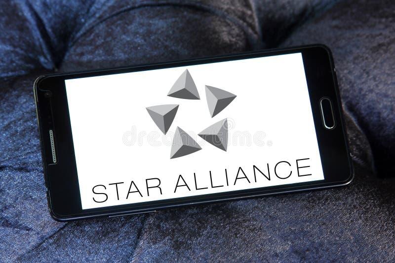 Λογότυπο συμμαχίας αστεριών στοκ φωτογραφίες