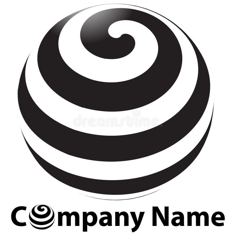 λογότυπο σφαιρών διανυσματική απεικόνιση