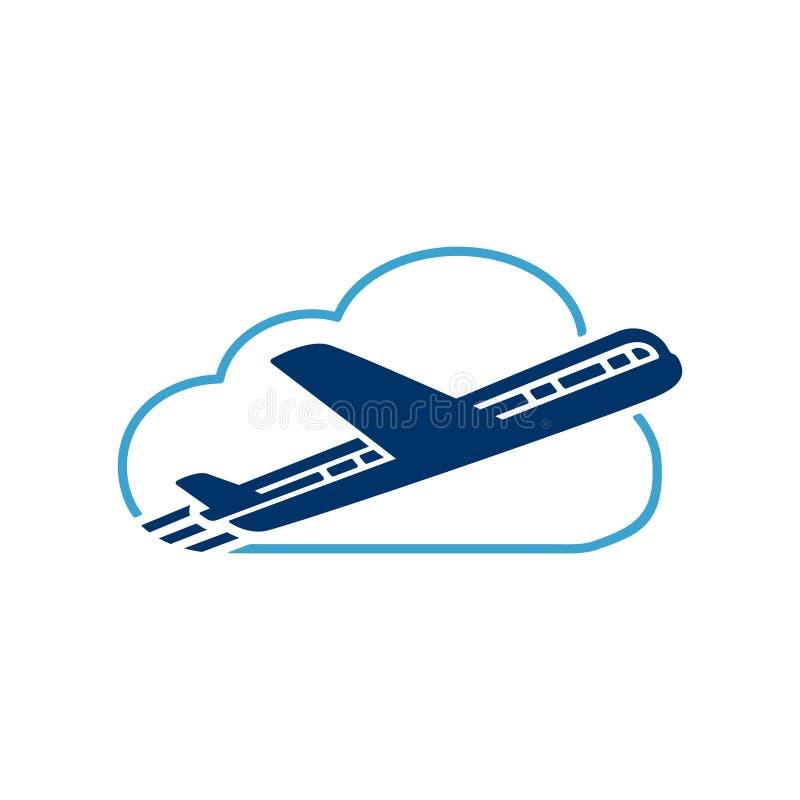 Λογότυπο ταξιδιού Διάνυσμα και απεικόνιση Πρότυπο σχεδίου ταξιδιού διανυσματική απεικόνιση