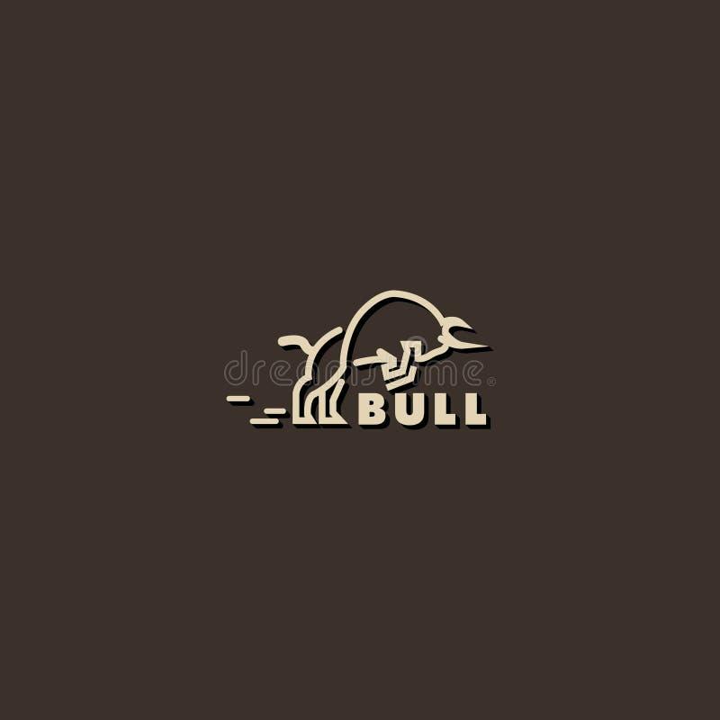 Λογότυπο ταύρων στοκ εικόνα με δικαίωμα ελεύθερης χρήσης