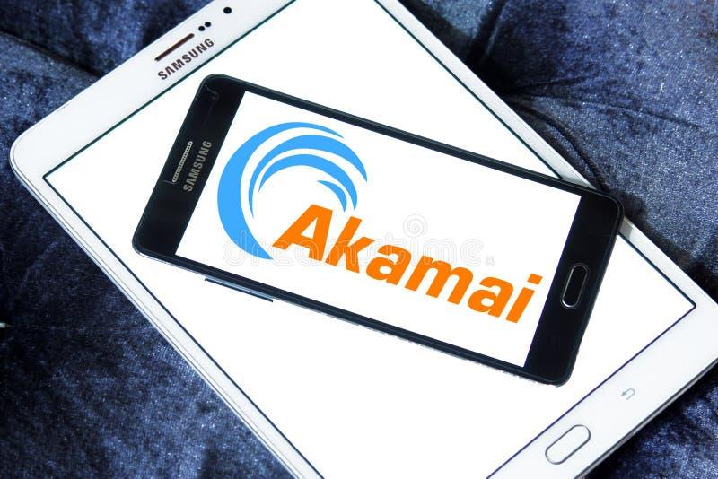 Λογότυπο τεχνολογιών Akamai στοκ εικόνες