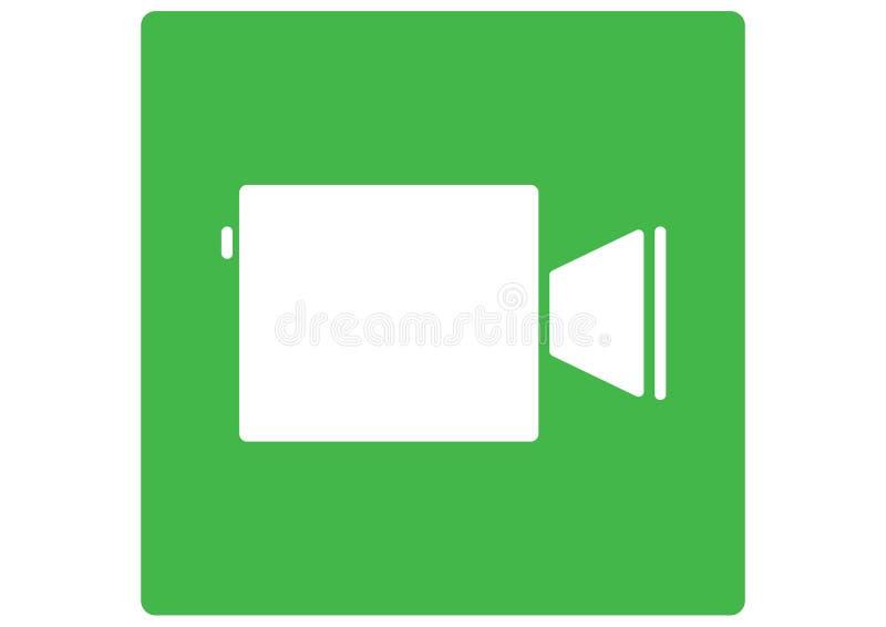 Λογότυπο της Apple Facetime ελεύθερη απεικόνιση δικαιώματος