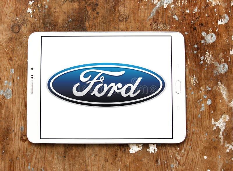 Λογότυπο της Ford στοκ φωτογραφία με δικαίωμα ελεύθερης χρήσης