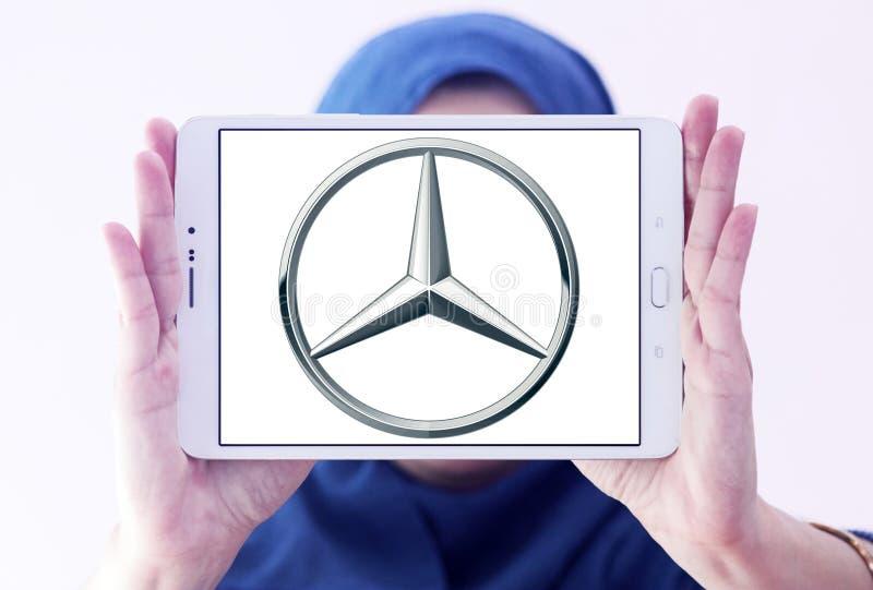 Λογότυπο της Mercedes στοκ εικόνα