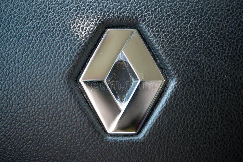 Λογότυπο της Renault στοκ φωτογραφία