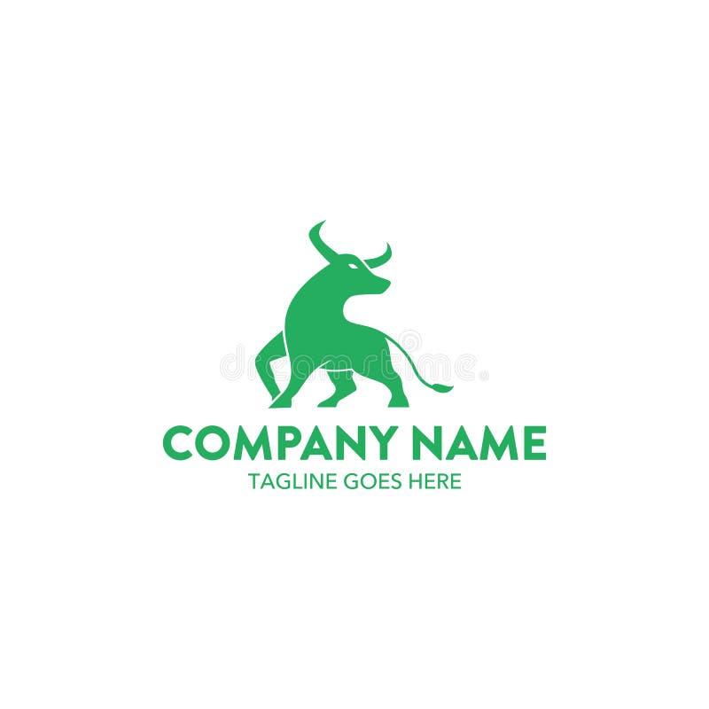 Λογότυπο του Bull διανυσματική απεικόνιση