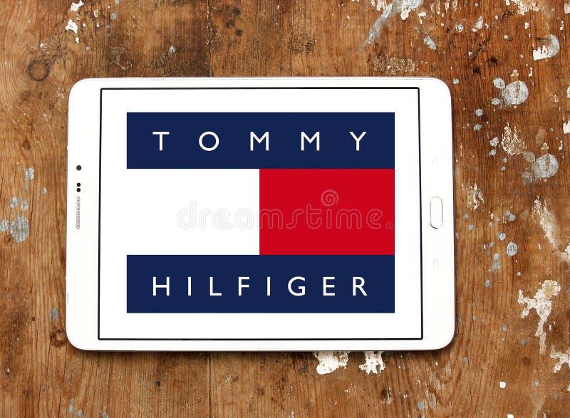 Λογότυπο του Tommy hilfiger στοκ φωτογραφία