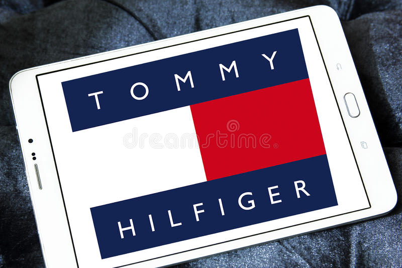 Λογότυπο του Tommy hilfiger στοκ εικόνες