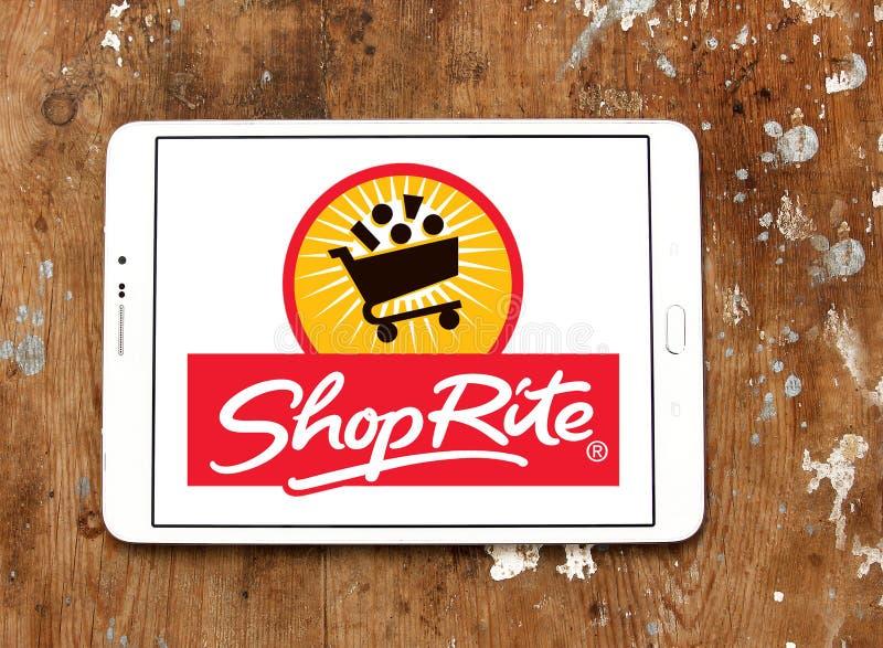 Λογότυπο υπεραγορών ShopRite στοκ φωτογραφία με δικαίωμα ελεύθερης χρήσης