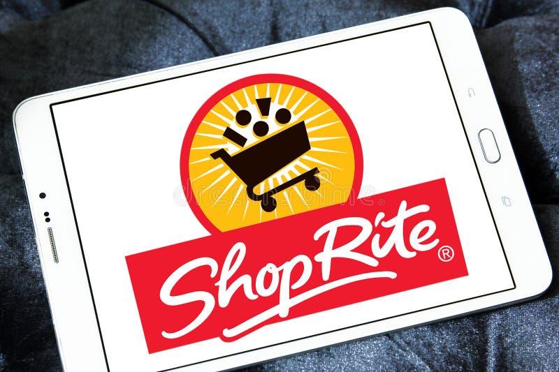 Λογότυπο υπεραγορών ShopRite στοκ εικόνες με δικαίωμα ελεύθερης χρήσης