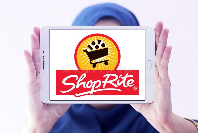 Λογότυπο υπεραγορών ShopRite στοκ εικόνες
