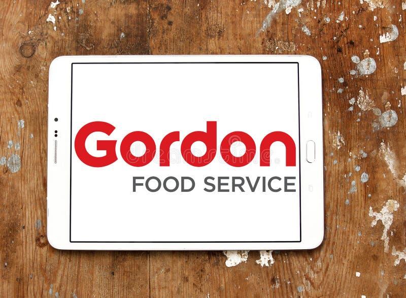 Λογότυπο υπηρεσιών τροφίμων του Gordon στοκ φωτογραφία με δικαίωμα ελεύθερης χρήσης