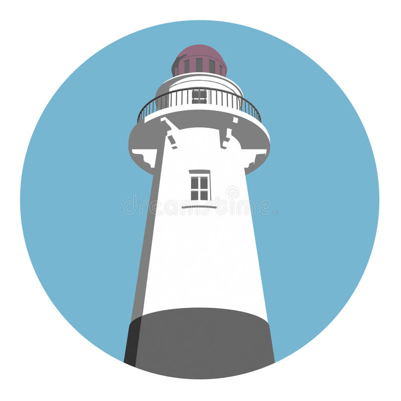 λογότυπο φάρων απεικόνιση αποθεμάτων