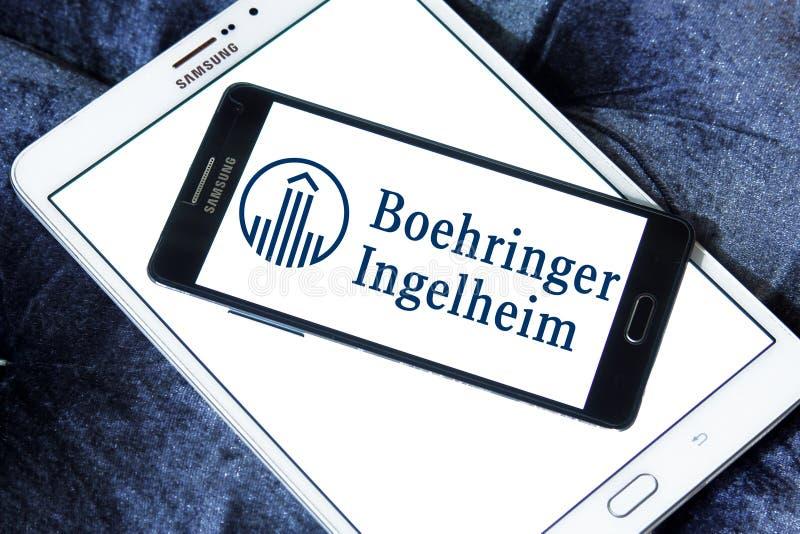 Λογότυπο φαρμακοβιομηχανίας Ingelheim Boehringer στοκ φωτογραφία με δικαίωμα ελεύθερης χρήσης