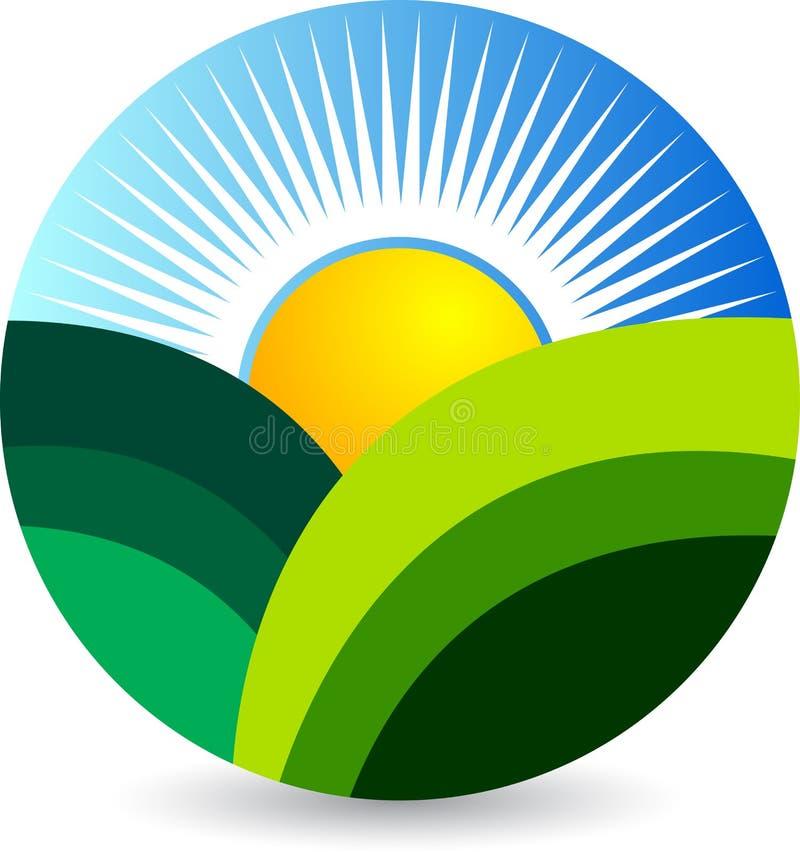 Λογότυπο φύσης ελεύθερη απεικόνιση δικαιώματος