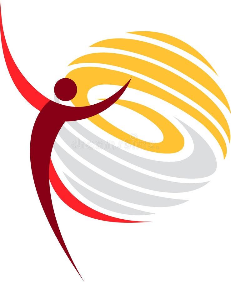 λογότυπο χορού ελεύθερη απεικόνιση δικαιώματος
