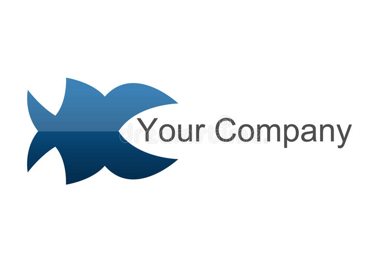 λογότυπο ψαριών διανυσματική απεικόνιση