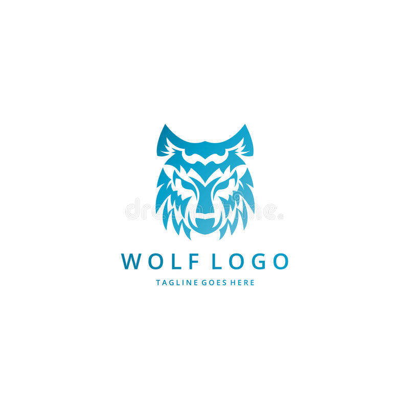 Λογότυπο λύκων απεικόνιση αποθεμάτων