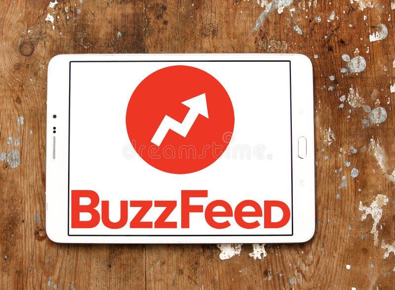 Λογότυπο BuzzFeed στοκ φωτογραφία