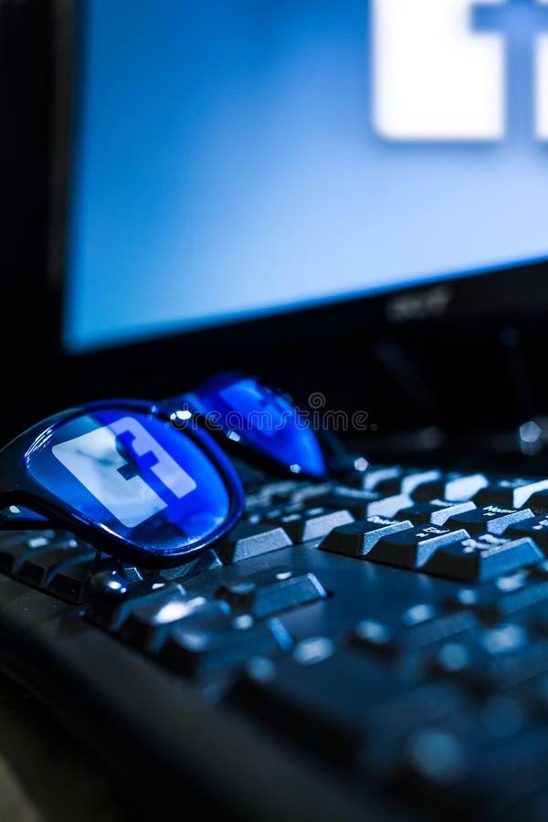 Λογότυπο Facebook στοκ εικόνες
