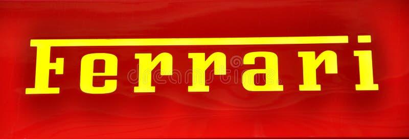 λογότυπο ferrari στοκ φωτογραφίες