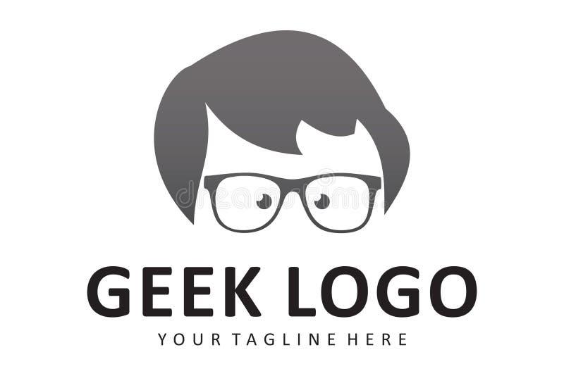 Λογότυπο Geek απεικόνιση αποθεμάτων