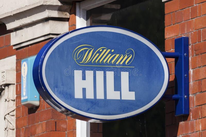 Λογότυπο Hill του William στοκ εικόνες