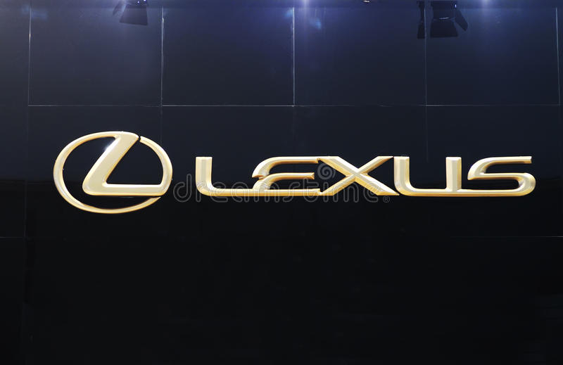 λογότυπο lexus στοκ εικόνες