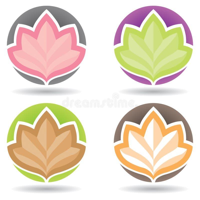 Λογότυπο Lotus διανυσματική απεικόνιση