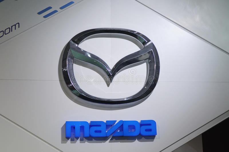 λογότυπο Mazda στοκ εικόνες