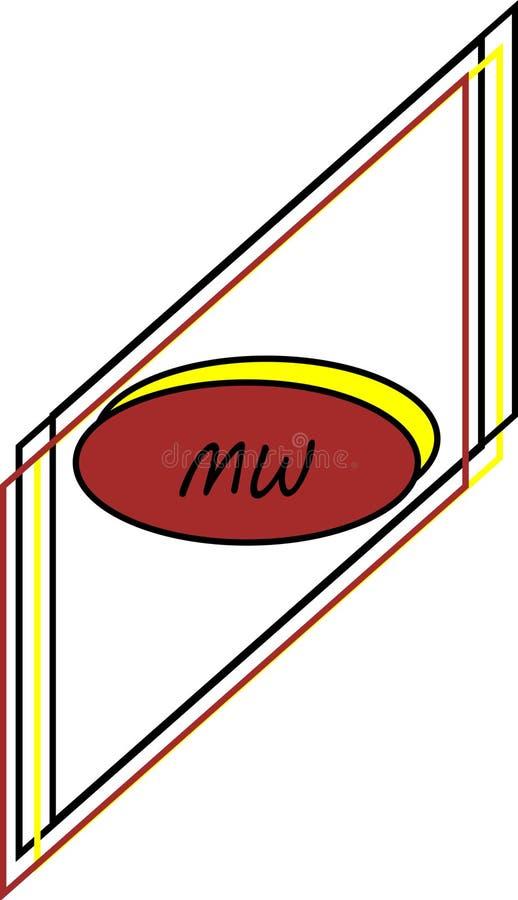 λογότυπο MW ελεύθερη απεικόνιση δικαιώματος