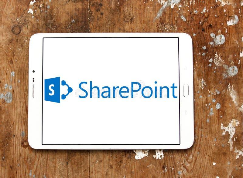 Λογότυπο SharePoint στοκ φωτογραφία