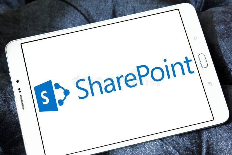 Λογότυπο SharePoint στοκ εικόνα με δικαίωμα ελεύθερης χρήσης
