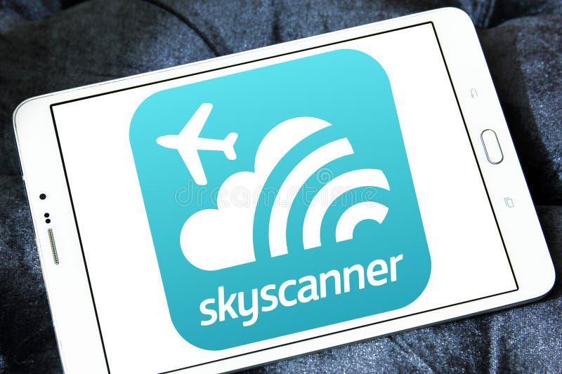 Λογότυπο Skyscanner στοκ εικόνες