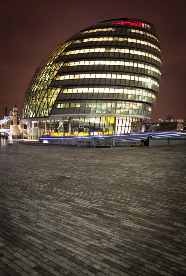 Λονδίνο Δημαρχείο στοκ φωτογραφία με δικαίωμα ελεύθερης χρήσης