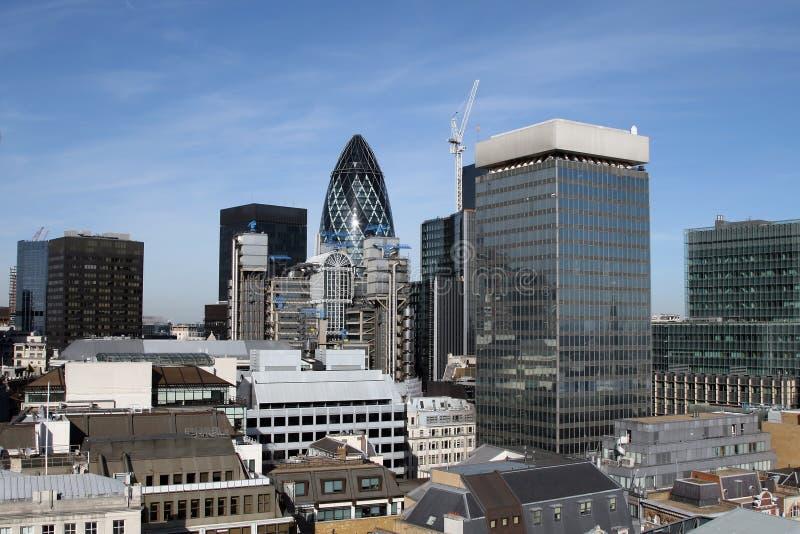 Λονδίνο σύγχρονο στοκ εικόνες