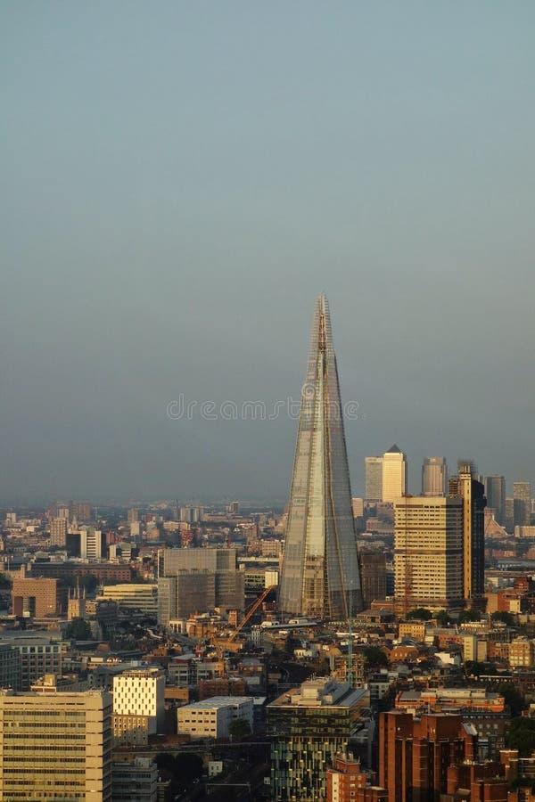 Λονδίνο shard στοκ φωτογραφία