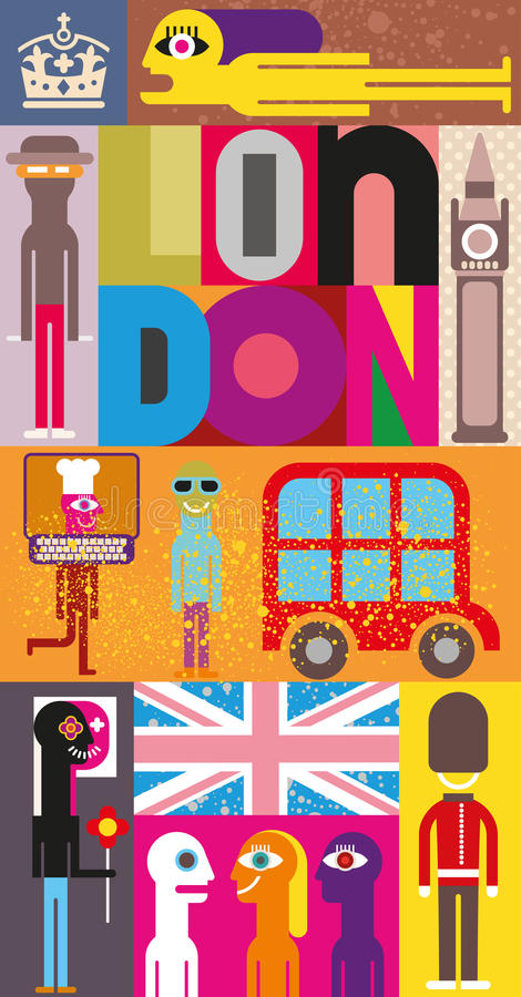 Λονδίνο απεικόνιση αποθεμάτων