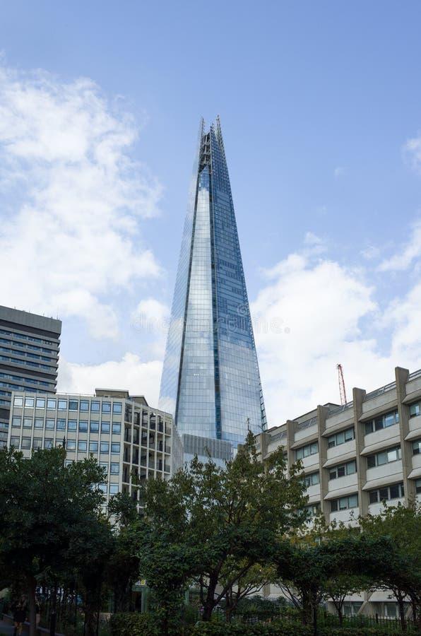 Λονδίνο shard στοκ εικόνα